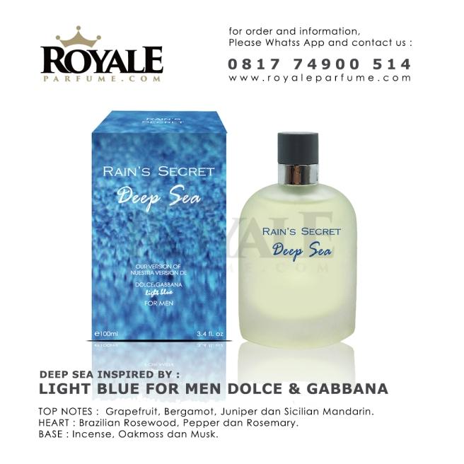 Deep Sea Rain's Secret Parfume USA