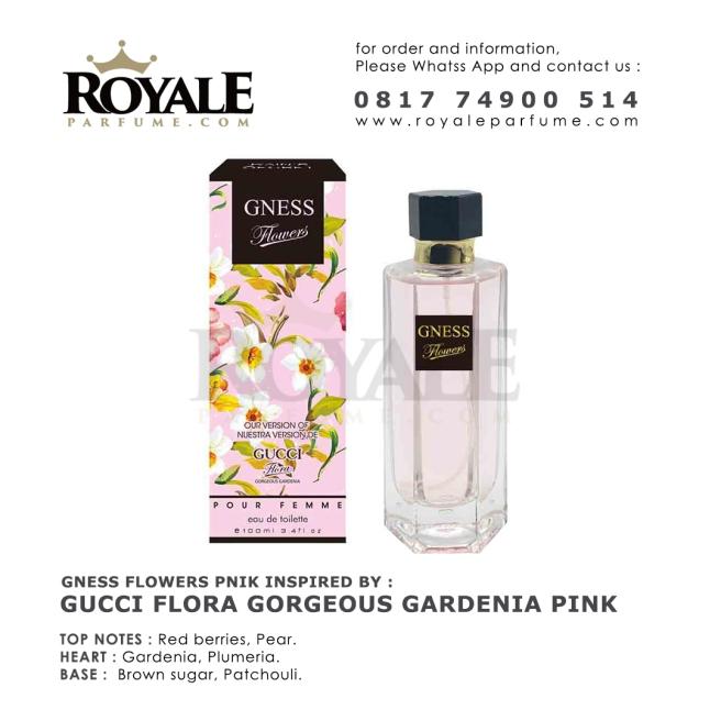GNESS FLOWER PINK Rain's Secret Parfume USA