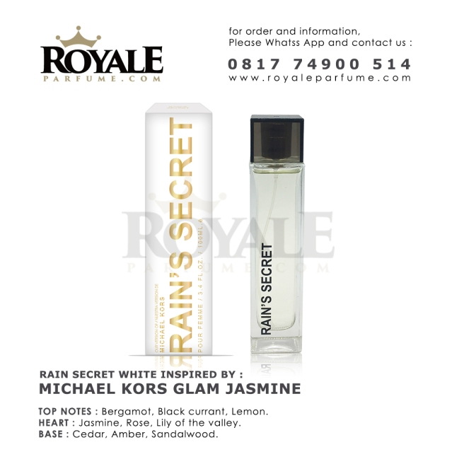 R&S WHITE JASMINE Rain's Secret Parfume USA Rain's Secret Parfume USA