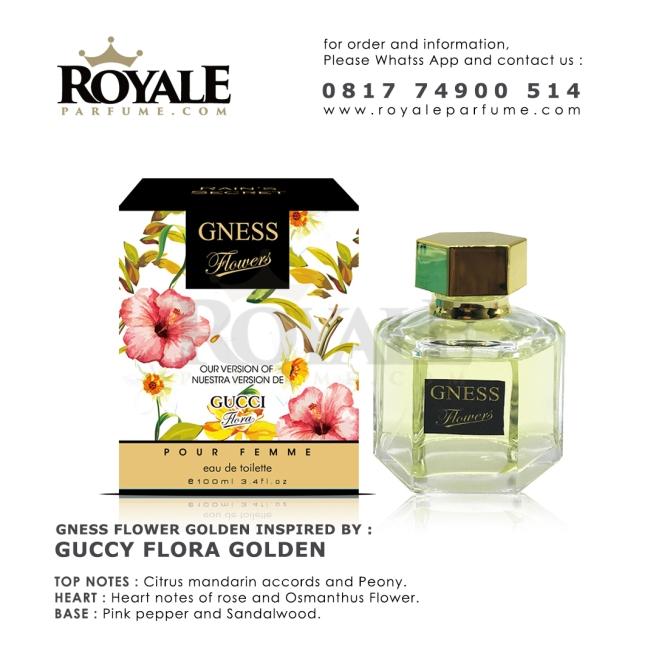 GNESS FLOWER GOLDEN Rain's Secret Parfume USA