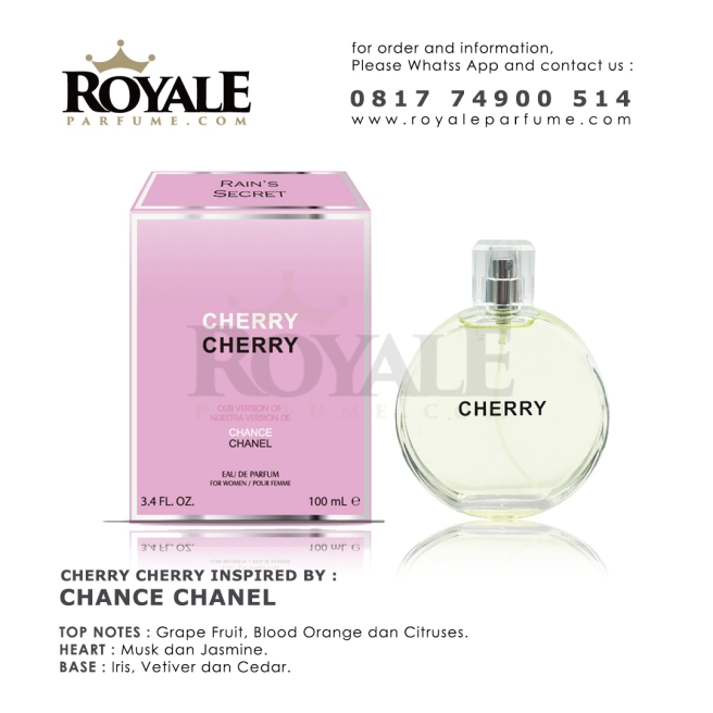 CHERRY CHERRY Rain's Secret Parfume USA