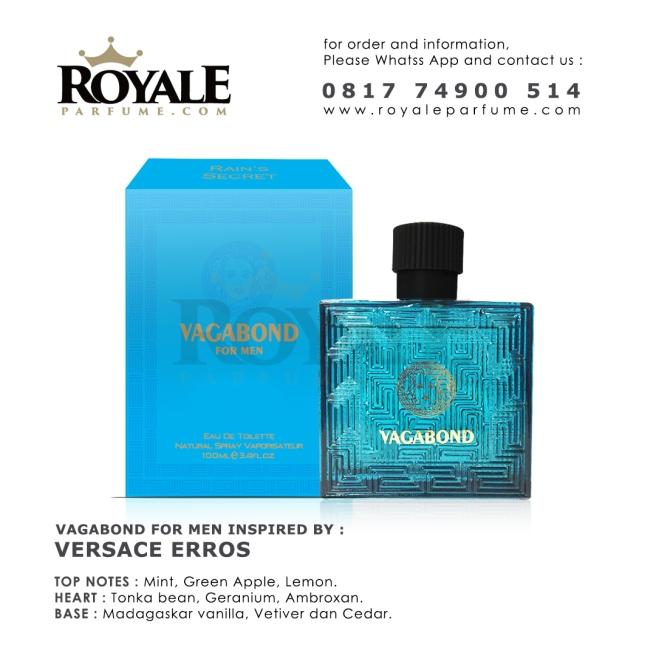 10.ROYALEPARFUME.COM RAIN'S SECRET PARFUM (USA) VAGABOND FOR MEN BY VERSACE ERROS