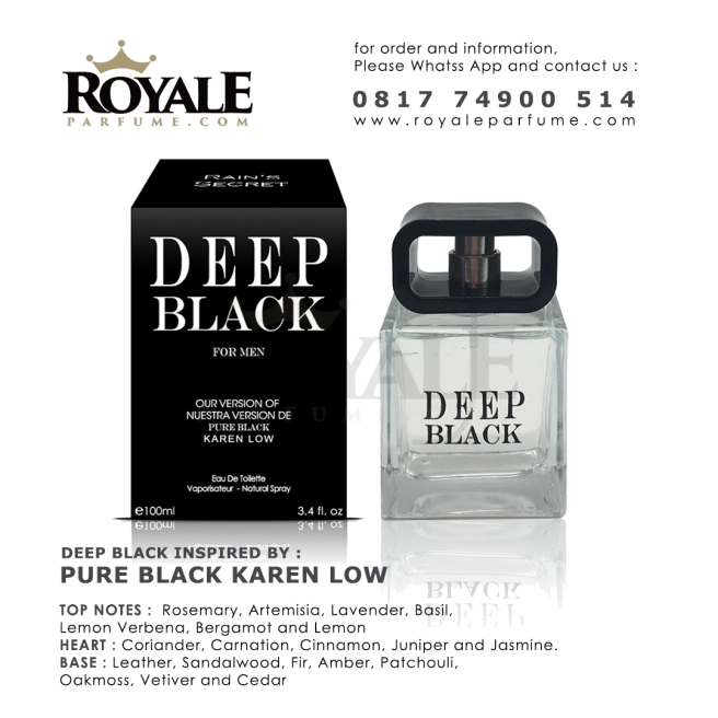 Deep Black Rain's Secret Parfume USA