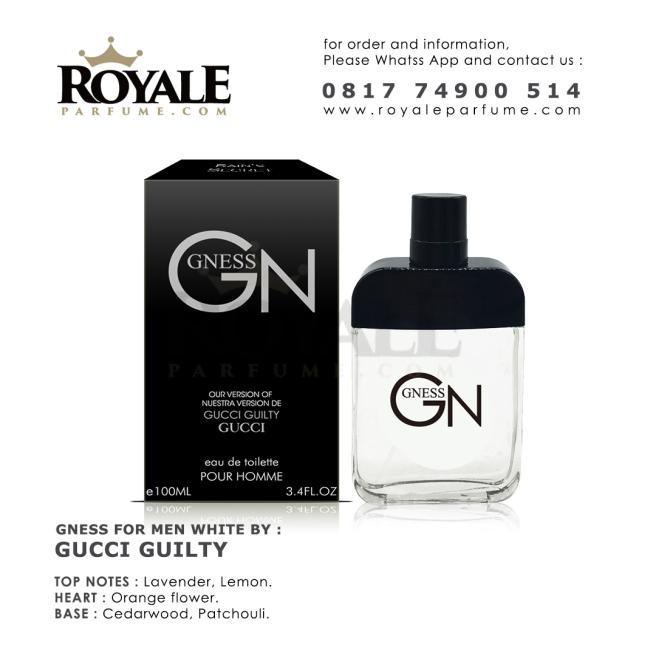 7.ROYALEPARFUME.COM RAIN'S SECRET PARFUM (USA) GN WHITE INSPIRED BY GUCCI GUILTY