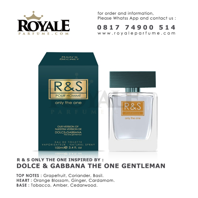 R&S only the one Rain's Secret Parfume USA