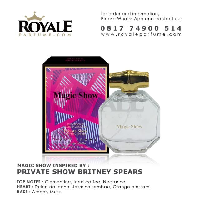 Magic Show Rain's Secret Parfume USA