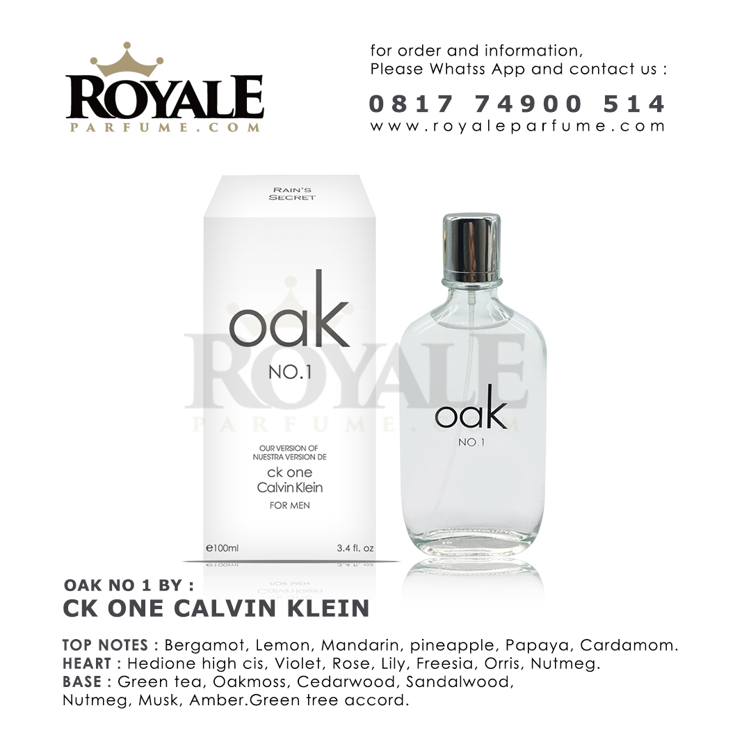 OAK NO.1 Rain's Secret Parfume USA