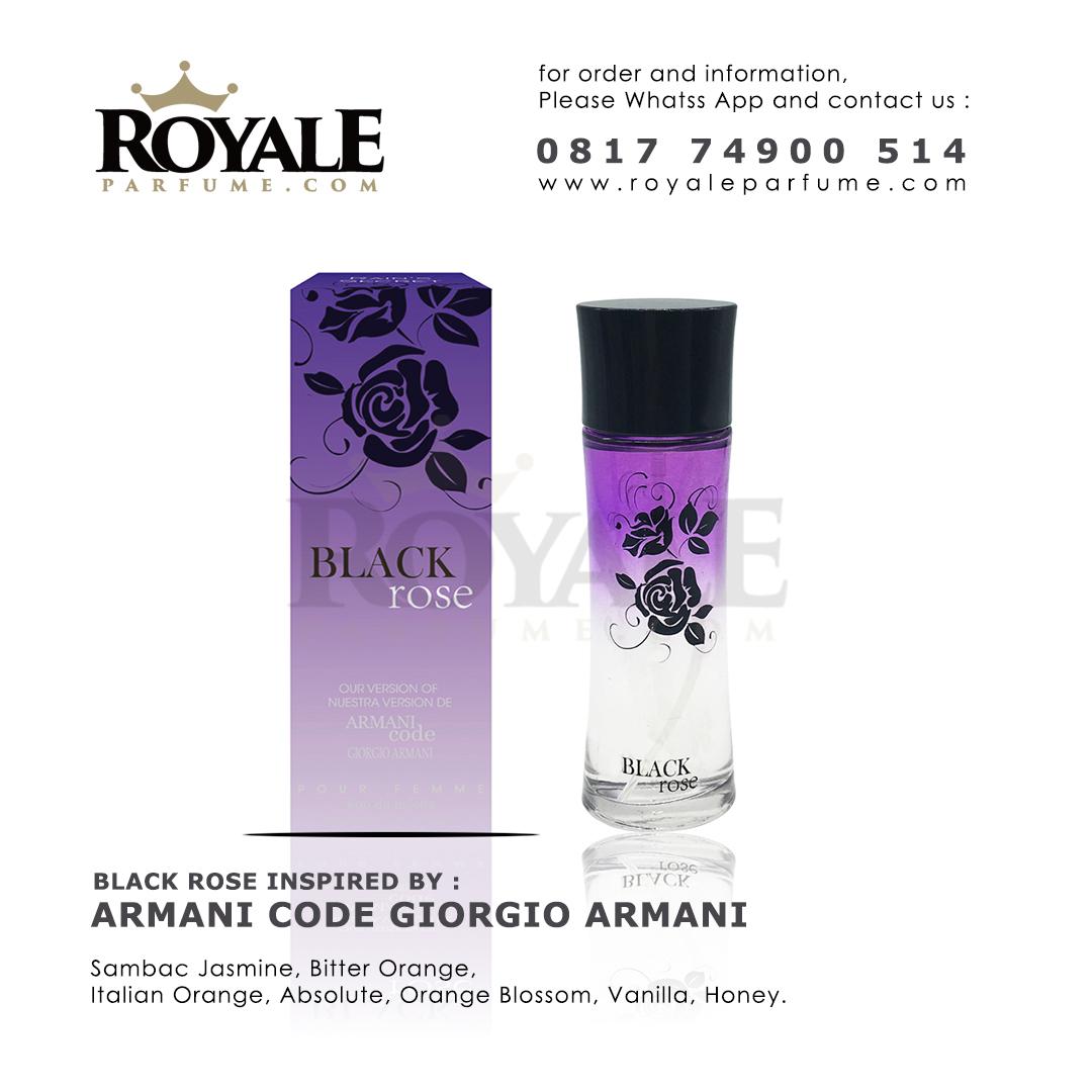 4.black rose