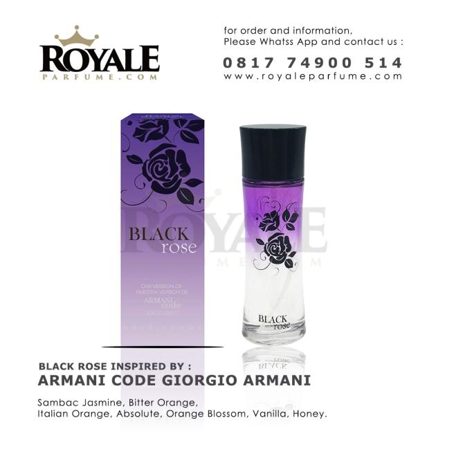 BLACK ROSE Rain's Secret Parfume USA