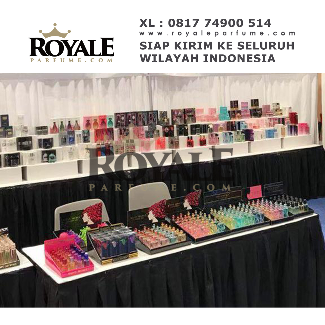 Stand Royaleparfume.com ketika pameran