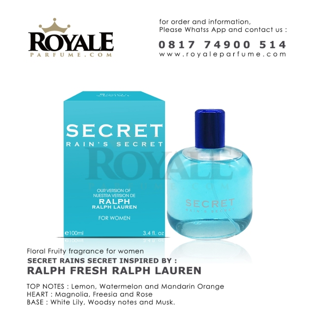 SECRET R&S Rain's Secret Parfume USA