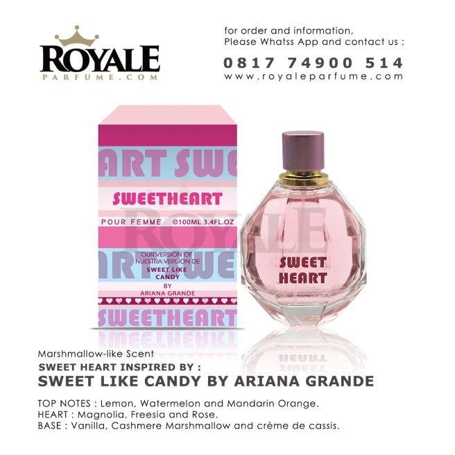 Sweet Heart Rain's Secret Parfume USA