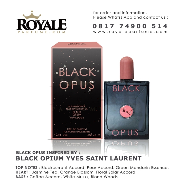 BLACK OPUS Rain's Secret Parfume USA