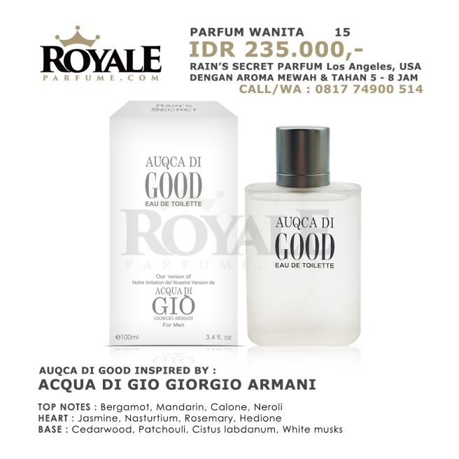 Distributor parfum di Bengkulu WA-081774900514